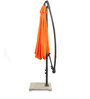 Outdoor Luxury Side Pole Patio Umbrella in Orange color by Adapt Affairs