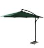 Outdoor Luxury Side Pole Patio Umbrella in Green