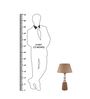Ozzy Table Lamp in Natural by Bohemiana