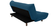 Palermo Sofa cum Bed in Dark Blue Colour by Furny