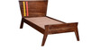 Denali Single Bed in Provincial Teak Finish by Woodsworth