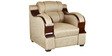 Panache (3 + 1 + 1) Seater Sofa Set in Beige Colour by RVF