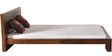 Blaine Queen Size Bed in Provincial Teak Finish by Woodsworth