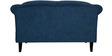 Paulina Two Seater Sofa in Navy Blue Colour by CasaCraft