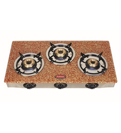 Padmini CS- 3 GT Garnet Brown Gas Stove