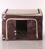 Packnbuy Nylon Brown Large Foldable Storage Box