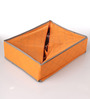 Packnbuy Fabric Orange 24-compartments Clothes Organiser