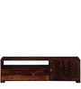 Byron Entertainment Unit in Provincial Teak Finish by Woodsworth