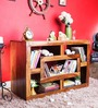 Madison Display  Unit in Provincial Teak Finish by Woodsworth