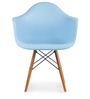 Palm Beach Club Chair in Robin Blue Colour by HomeHQ