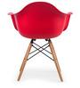 Palm Beach Club Chair in Roking Red Colour by HomeHQ