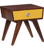 Denali Bed Side Table in Provincial Teak Finish by Woodsworth