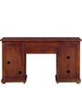 Edgewood City Study & Laptop Table in Honey Oak Finish by Woodsworth