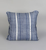 Pannaa Blue Cotton 16 x 16 Inch Vegetable Colour Printed Cushion Cover
