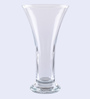 Pasabahce Transparent Glass Celebration Vase