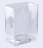 Pasabahce Transparent Glass Flora Vase