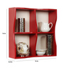 Pastor Contemporary Wall Shelf in Red by CasaCraft