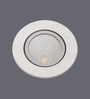 Patco Electricals White 6W PVC Recessed Light