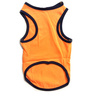 Pawzone Orange CV Star T Shirt for Dogs- 16 inch
