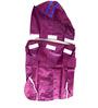 Pawzone Rain Coat for Dog in Purple (Size -10)