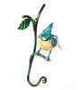 Peacock Life Multicolour Iron Painted Bird Jay Key Holder