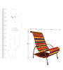 Pelican Chair In Orange & Other Multicolors by Sahil Sarthak Designs