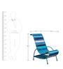 Pelican Chair In Shades Of Indigo by Sahil Sarthak Designs