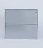 Peng Essentials Iron Silver 2 Shelves Shoe Rack