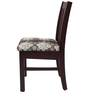 Pennie Set of 2 Dining Chair in Semi-Glossy Rosewood Finish by JFA Touchwood