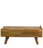 Pessora Coffee Table in Natural Finish by CasaCraft