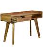 Pessora Console Table in Natural Finish by CasaCraft