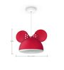 Philips Minnie Ceiling Lamp in Red Colour