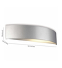 Philips Silver Synthetic Wall Light
