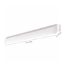 Philips White Synthetic Wall Light