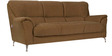 Piper Three Seater Fabric Sofa in Brown Colour by Home City