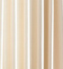PIndia Cream & Yellow Polyester 60 x 48 Inch Eyelet Window Curtain - Set of 3