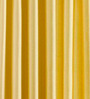 PIndia Yellow & White Polyester 60 x 48 inch Solid Eyelet Window Curtain - Set of 3