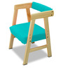 Pineworks Desk & Chair set in Blue Colour by Alex Daisy