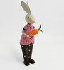 Pink Mr Rabbit Figurine by The Yellow Door