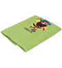 Imagica Pirate Applique Lime Bath Towel