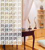 Planet Decor White Acrylic Room Divider