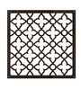 Planet Decor Wenge Acrylic with Wooden Lamination Floral Room Divider