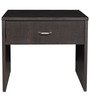 Platina Side Table in Wenge Colour by Crystal Furnitech