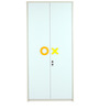Play Two Door Wardrobe by Mollycoddle