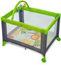 Playmate Portable Baby Crib in Green & Black by Fischer Price