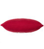 Pluchi Car Cushion Pillow in Natural & Red Colour