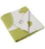 Pluchi Stomping Little Dinos Baby Blanket in Green & Ivory Colour