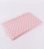 Pluchi Tiny Dots Pink Cotton 39 x 31 Inch Single Blanket