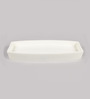 Plumeria Whites Ceramic Bath Storage 1 Pc