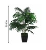 Pollination Green Polyester Areca Palm Artificial Plant